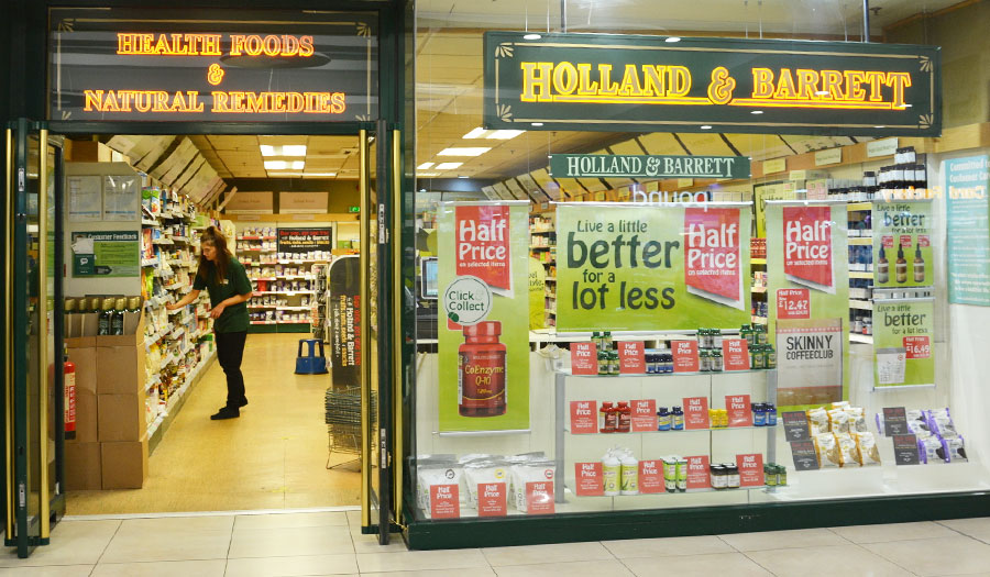 Holland and Barrett, The Forge Shopping Centre, Glasgow