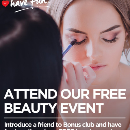 Bonmarche Free Beauty Event