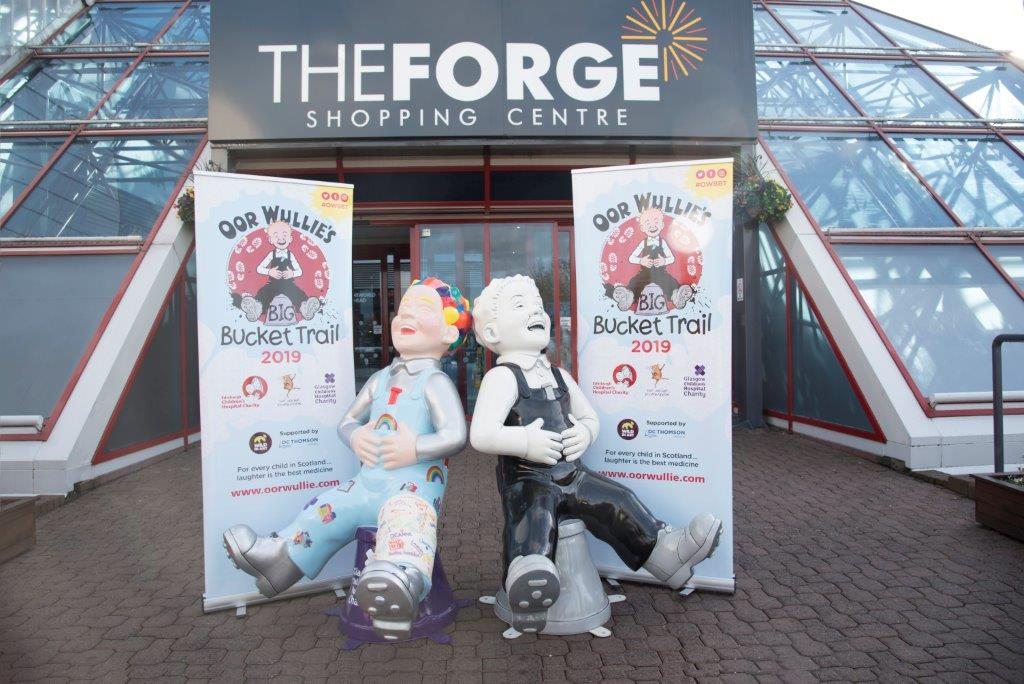 Oor Wullie's BIG Bucket Trail   The Forge Shopping Centre