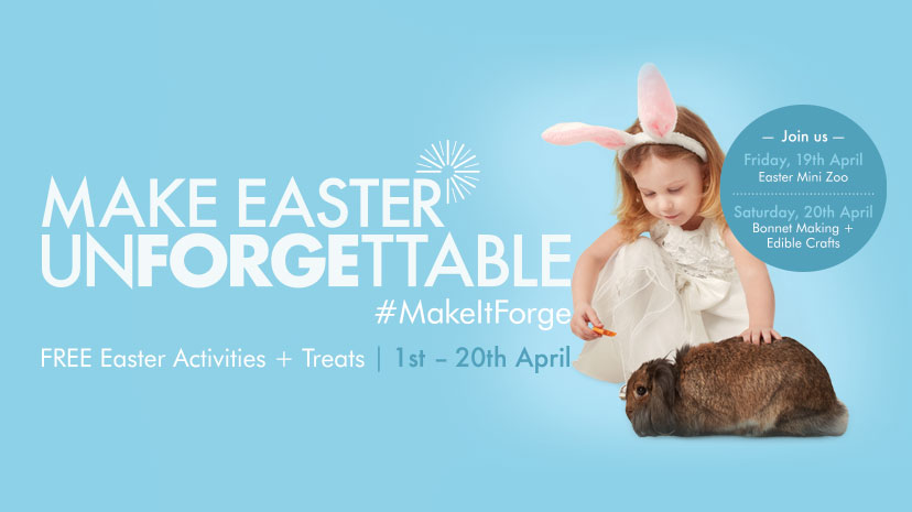 Easter Activities The Forge Shopping Centre Glasgow